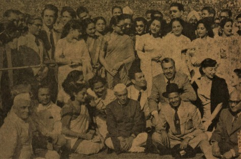 Nehru at National Physical Laboratory after Inaugration of IFFI Delhi