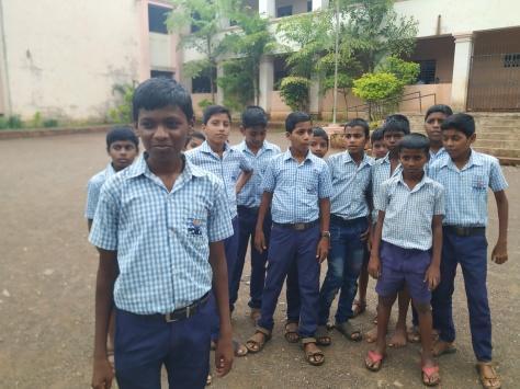 Image2 Ananta with his classmates at school..jpg